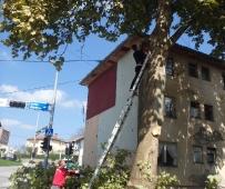 Radovi oko zgrade socijalnog