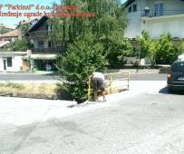 Sanacija ograde mosta u Svircu