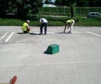 Uređenje poligona za obuku vozača